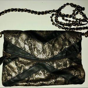 Helena de Natalio Snakeskin clutch